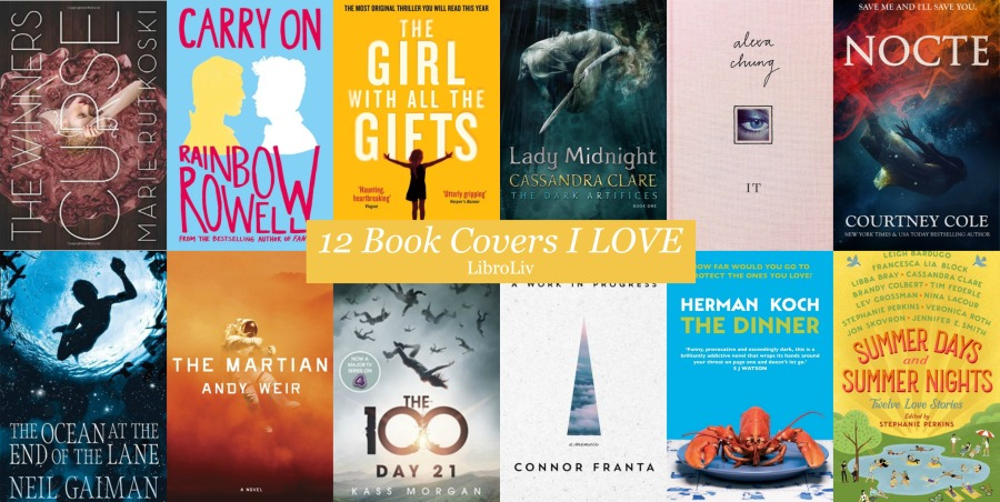 12 book covers i love